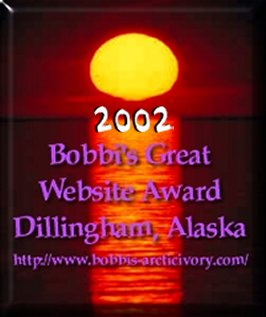 Bobbi's Great Website Award