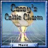 Casey's Celtic Charm - Merit