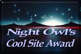 Night Owl's Cool Site Award