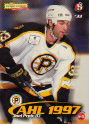 1997-98 Providence Bruins/Split Second. Card #14. (Front)