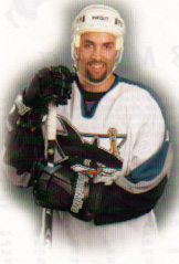 Joel's picture from the San Jose Sharks program